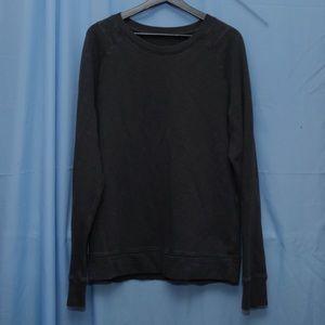 Lululemon Dark Gray Sweatershirt